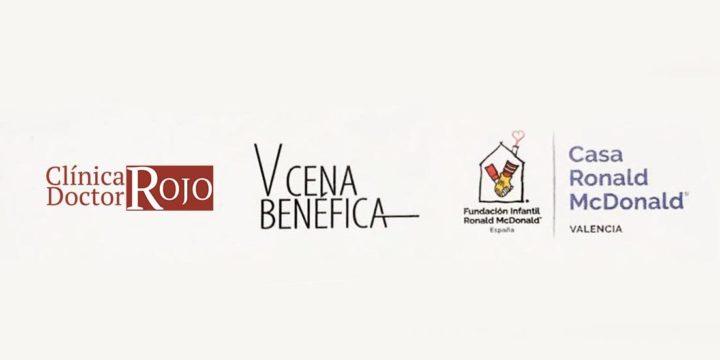 ¡Clínica Doctor Rojo en la V Cena Benéfica de La Casa Ronald de Valencia!