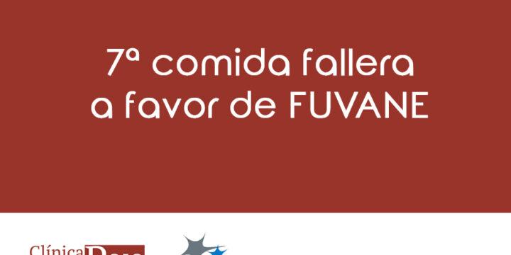 Clínica Doctor Rojo en la comida fallera a favor de FUVANE