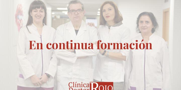 Clínica Doctor Rojo en continua formación