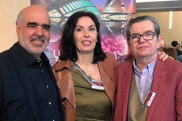 Con el Doctor Juan Carlos Pérez Olmedo.